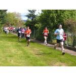 Bilder vom 5.000 m - Lauf beim Römerlauf 2013
