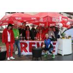 Bilder von Siegerehrung und Cooldown beim Römerlauf 2013