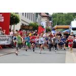 700 m -MiniLauf beim Römerlauf 2014