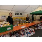 Organisation und Warmup beim Römerlauf 2014