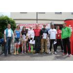 Siegerehrung und Cooldown beim Römerlauf 2014