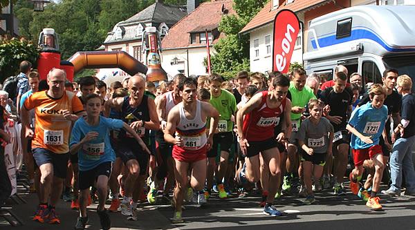 5km-Lauf - Start