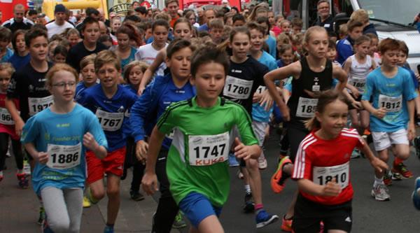 Schülerlauf - Start